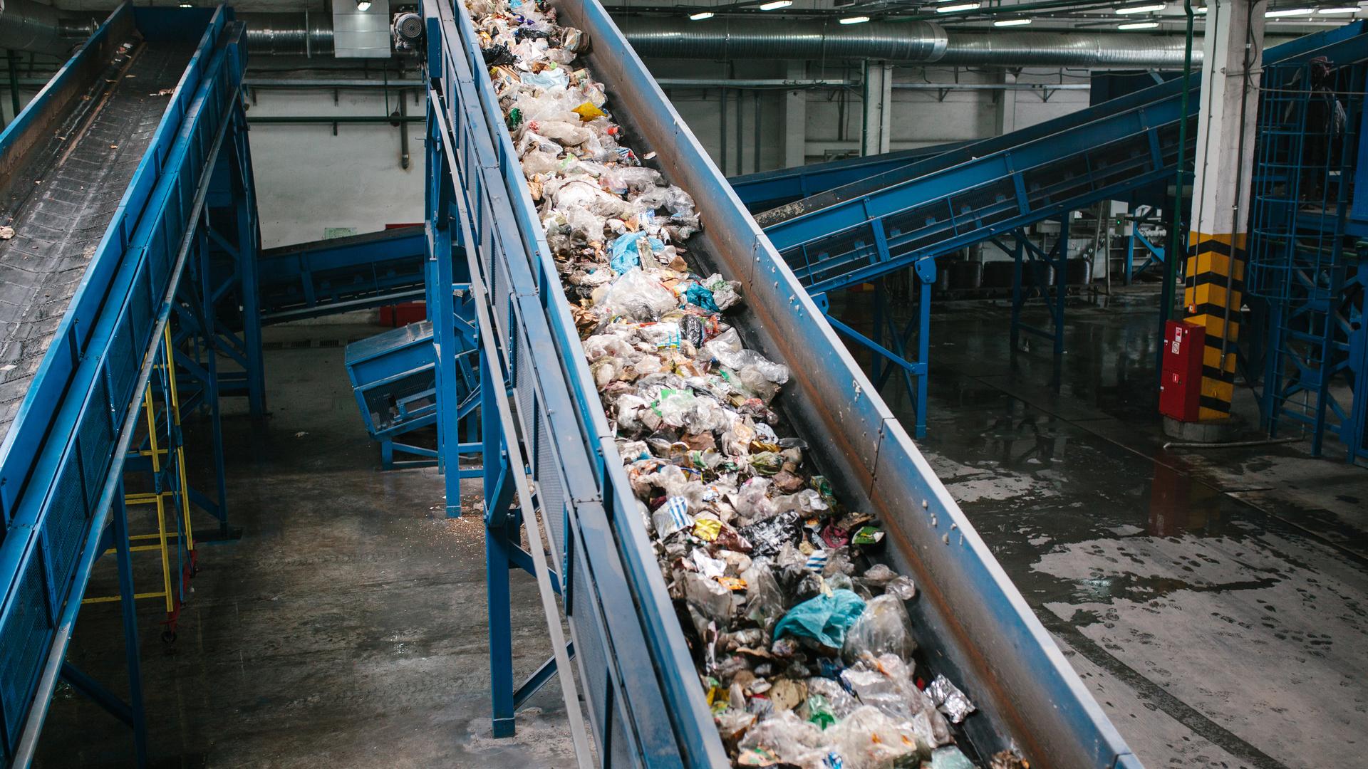 Planta de gestión de residuos