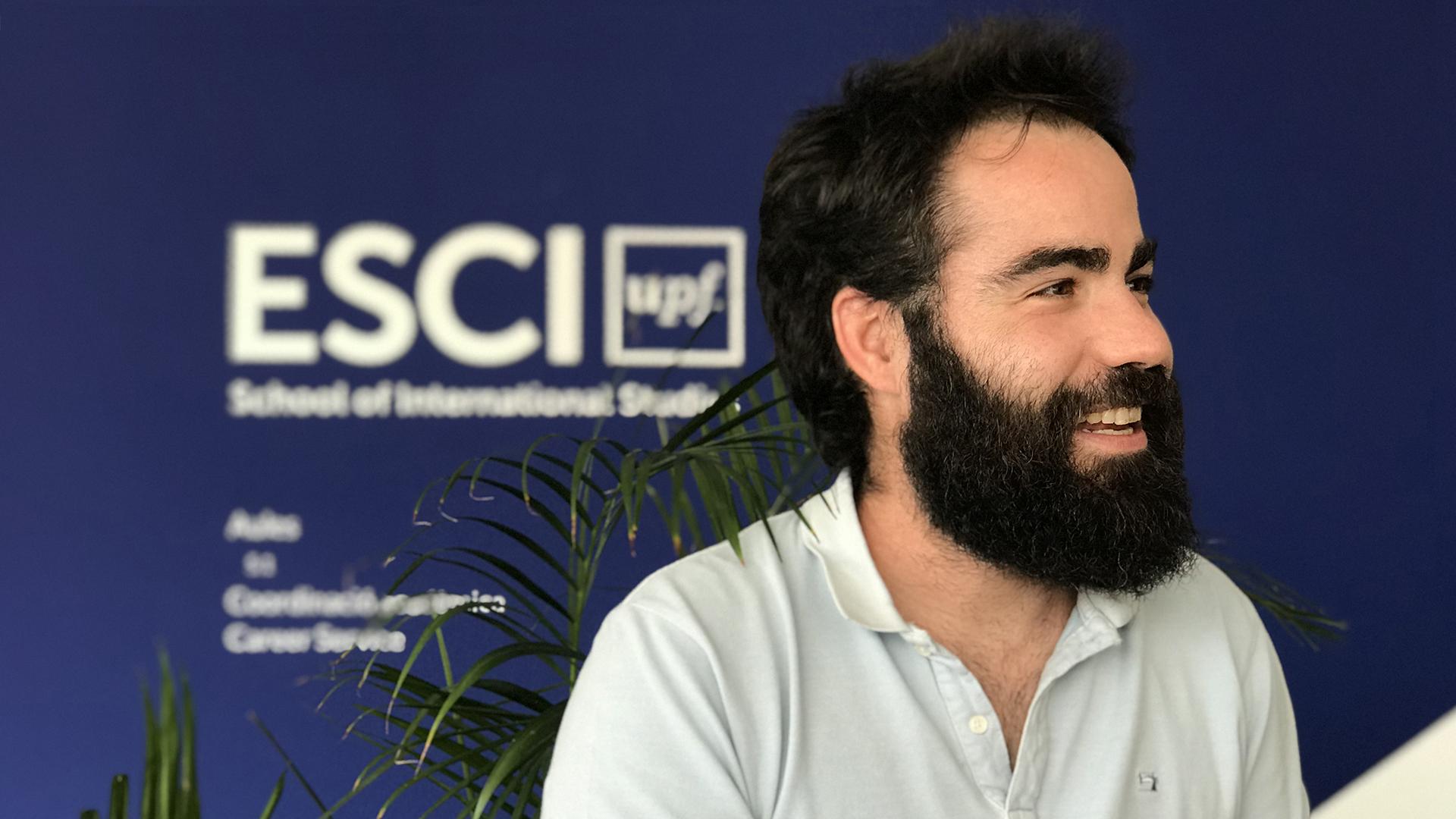 Jaume Albertí, investigador de la Càtedra UNESCO de Cicle de Vida i Canvi Climàtic ESCI-UPF