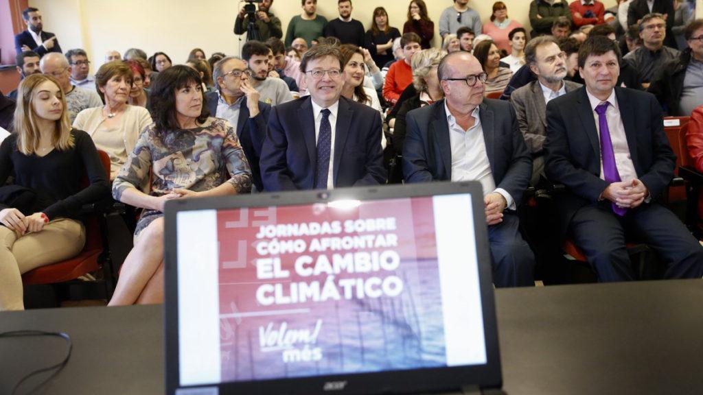 jornada 'Cómo afrontar el cambio climático'