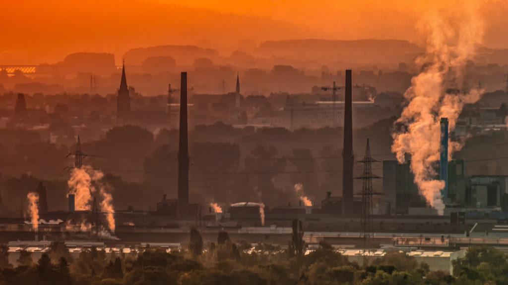contaminación aire salud