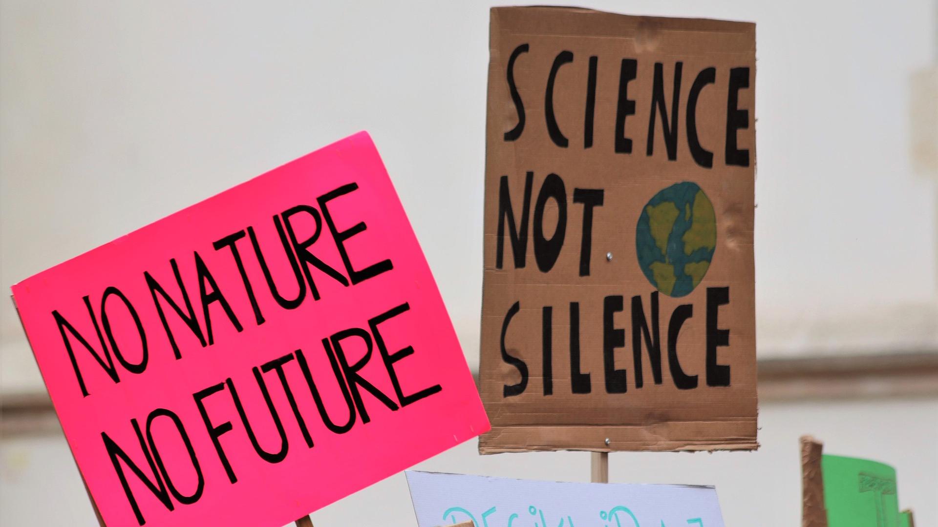 Huelga por el cambio climático
