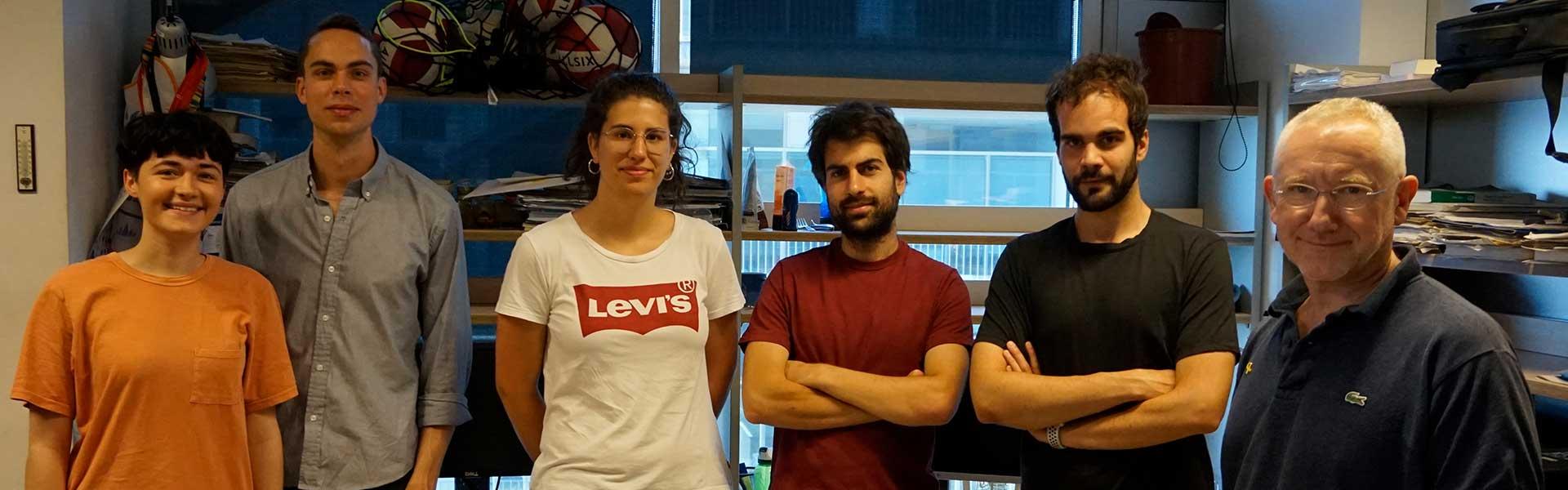 Baldo Oliva treballa amb estudiants de BDBI i Biologia humana i estudiants d'Erasmus.