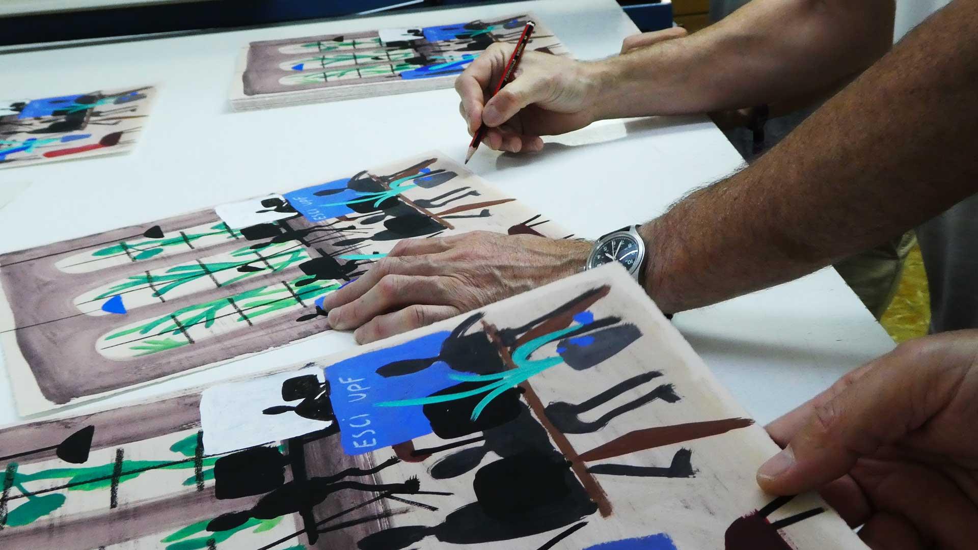 Obra Ramon Enrich per graduació 2019
