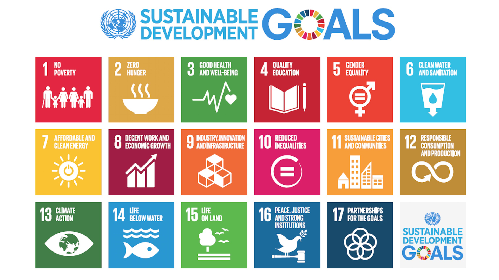 2030 Agenda Sustainable Development Goals