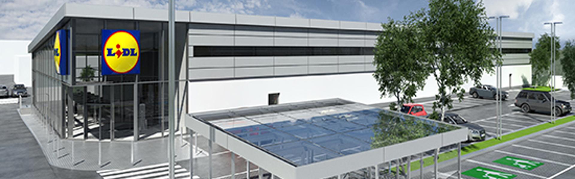 Lidl España está apostando por la sostenibilidad de sus tiendas