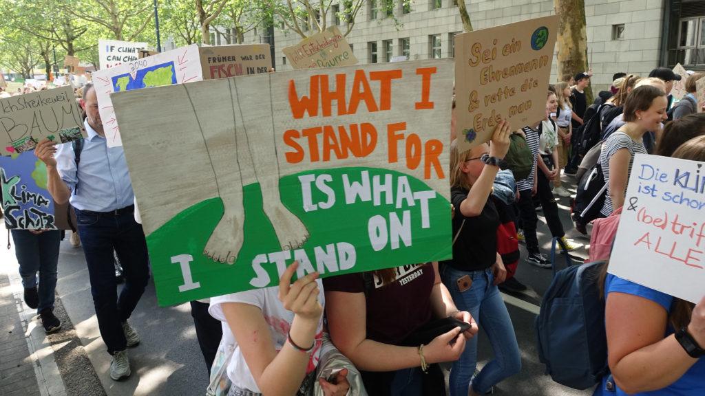 Tercera vaga mundial pel clima ESCI-UPF
