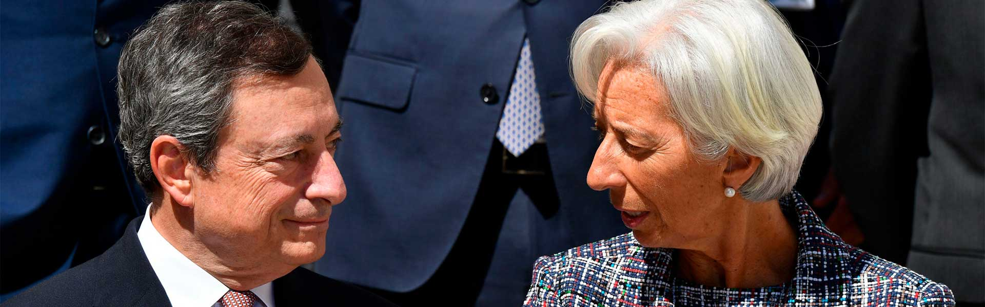 BCE Draghi Lagarde