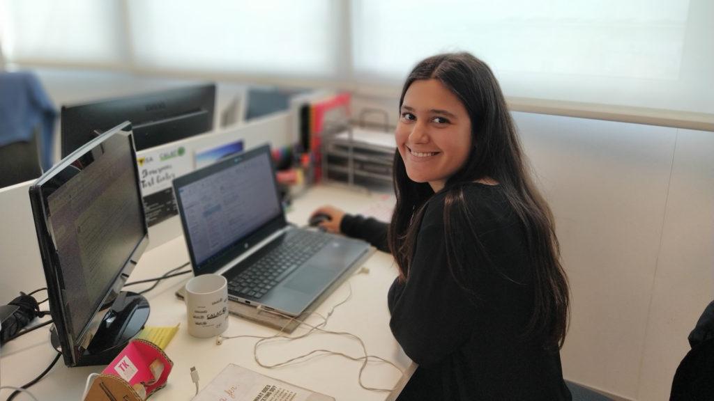 Laia Martín Anglada, alumni ESCI-UPF, Calaf Grup medi ambient