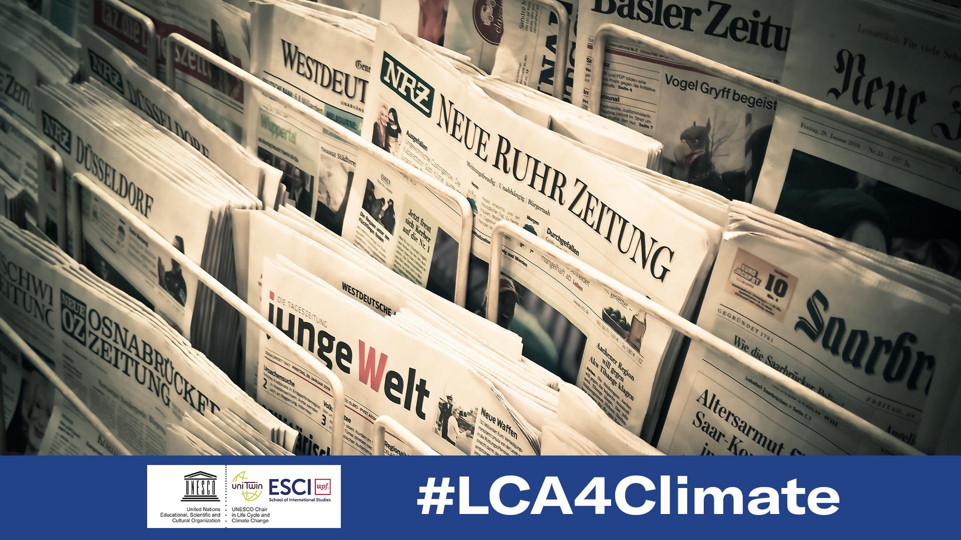 LCA4Climate líder d'opinió