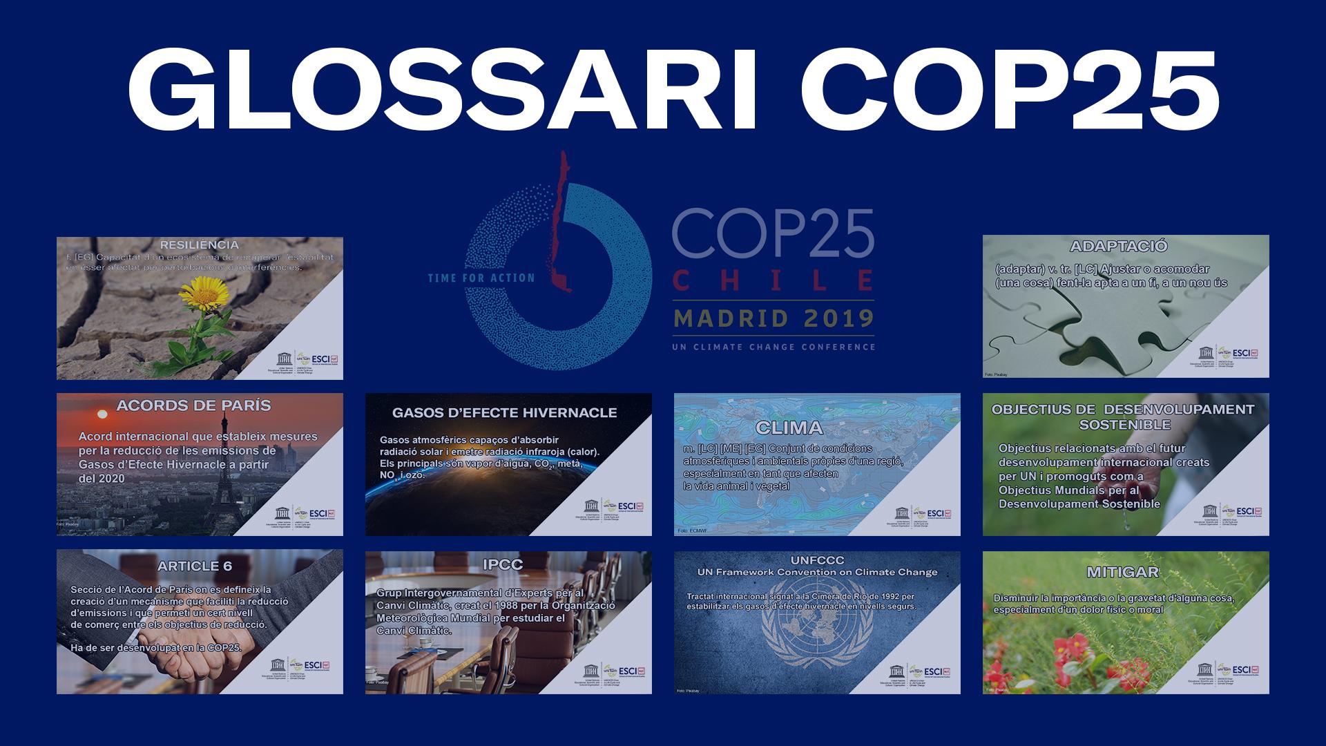 Glossari COP25