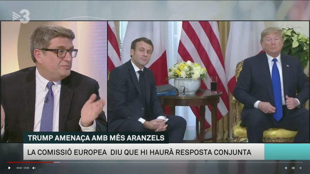 Joan Ribas participa a Els matins de TV3