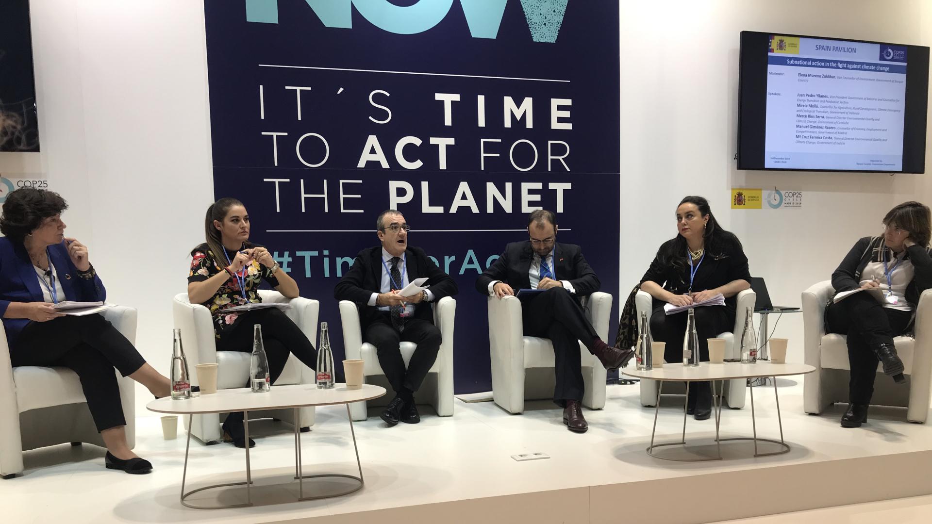 COP 25 Acción subnacional contra el cambio climático