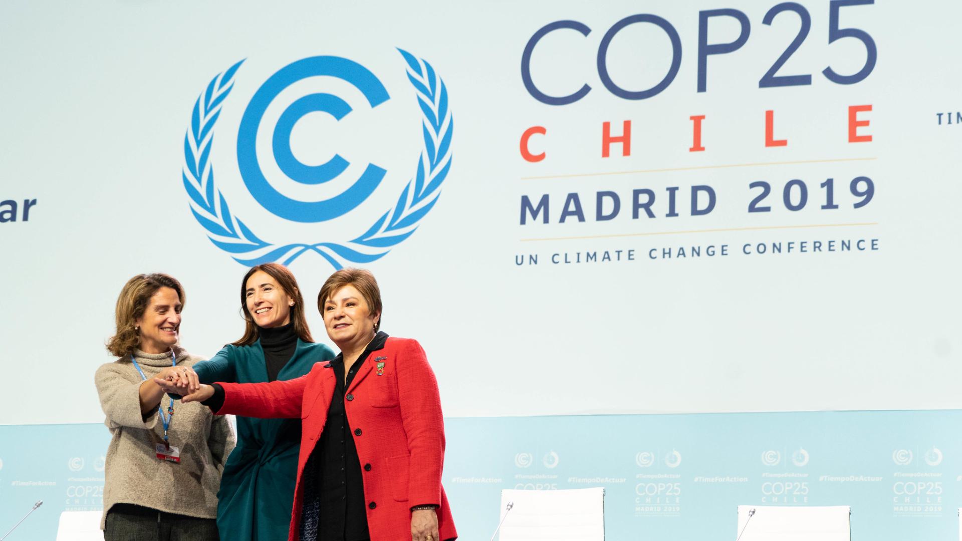 Ambición, crisis y evidencia en la COP25