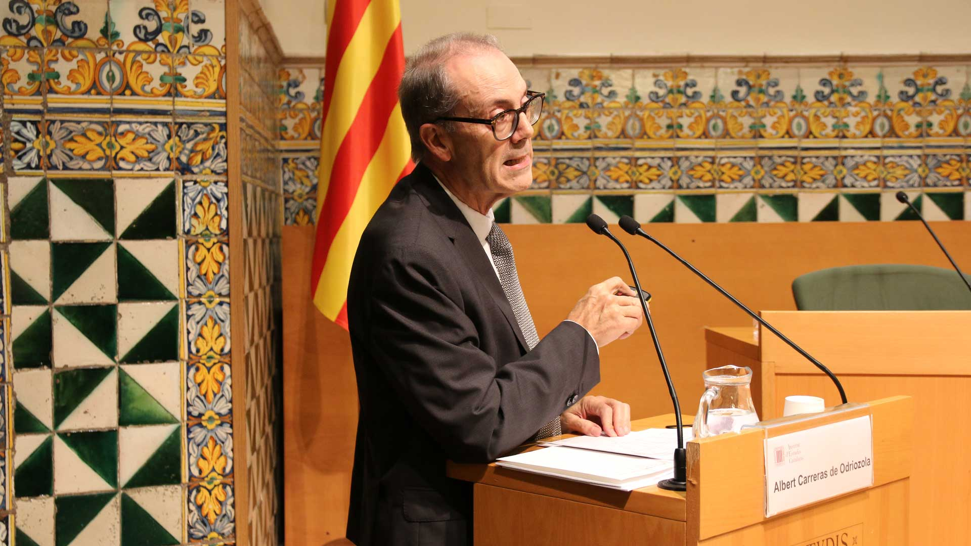Albert Carreras economia catalana