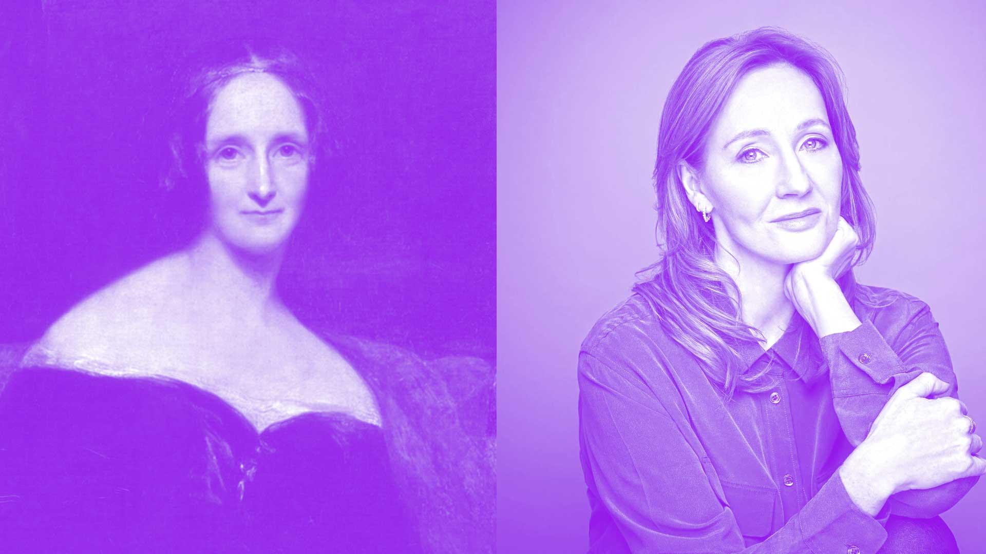 Literatura Shelley i Rowling
