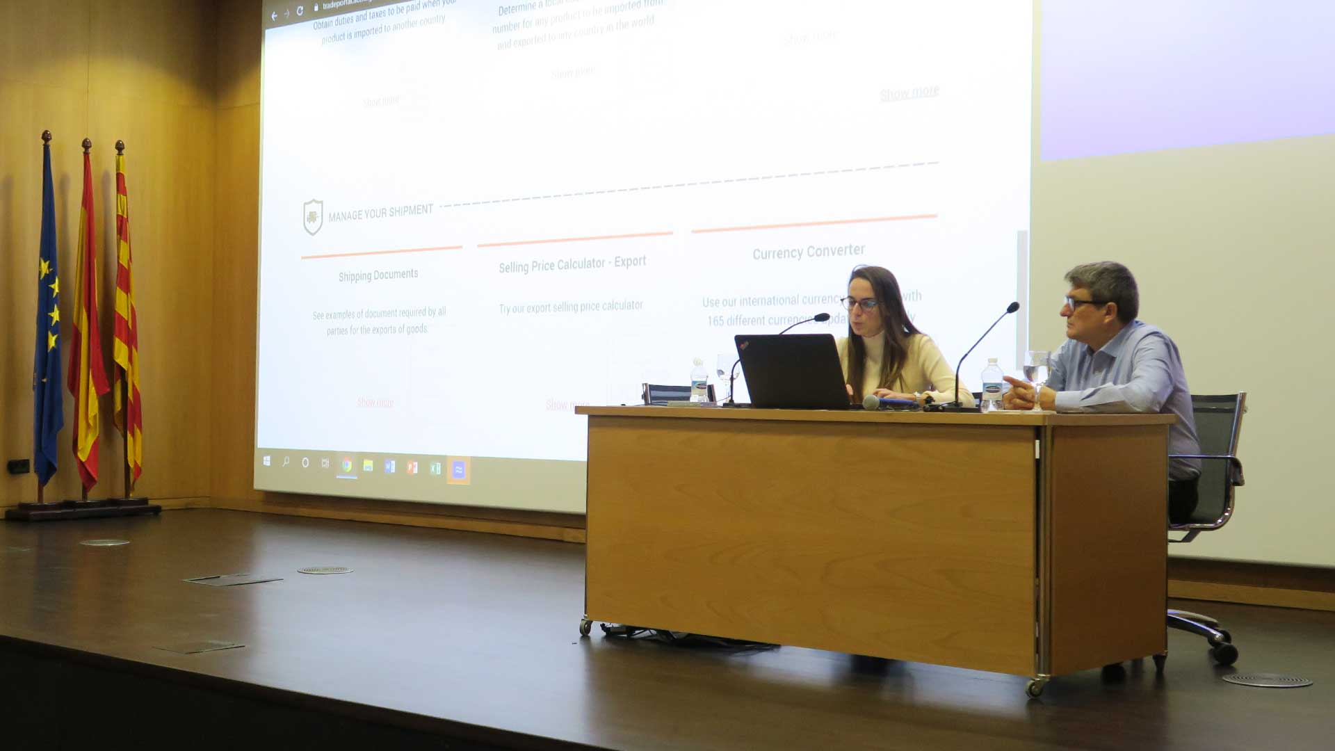 Catalonia Trade Portal estudiants