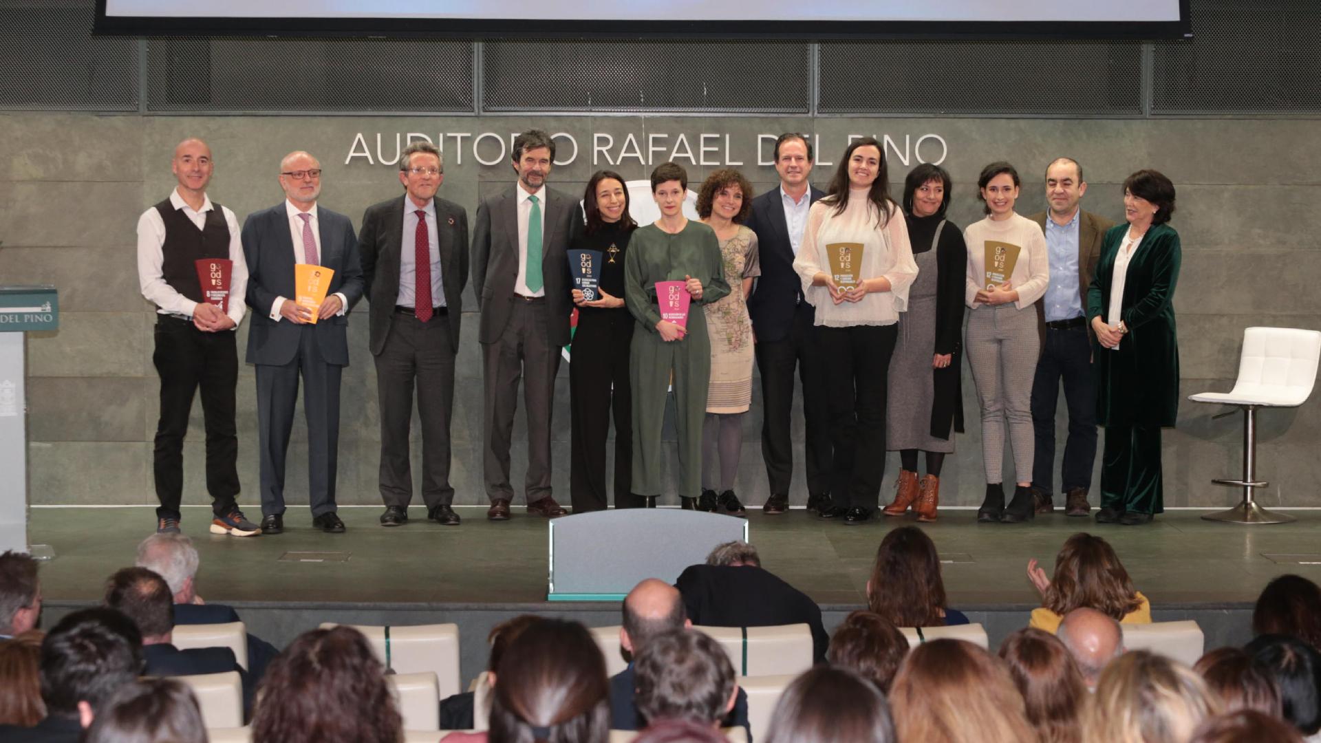 Zero Cabin Waste premiado en los Reconocimientos go!ODS