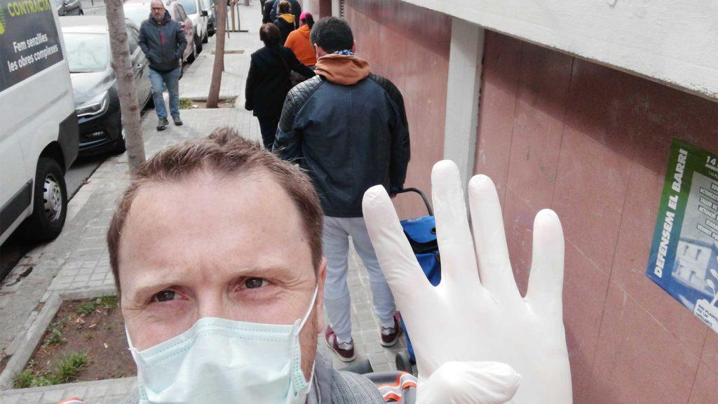 Diary of a researcher in quarantine