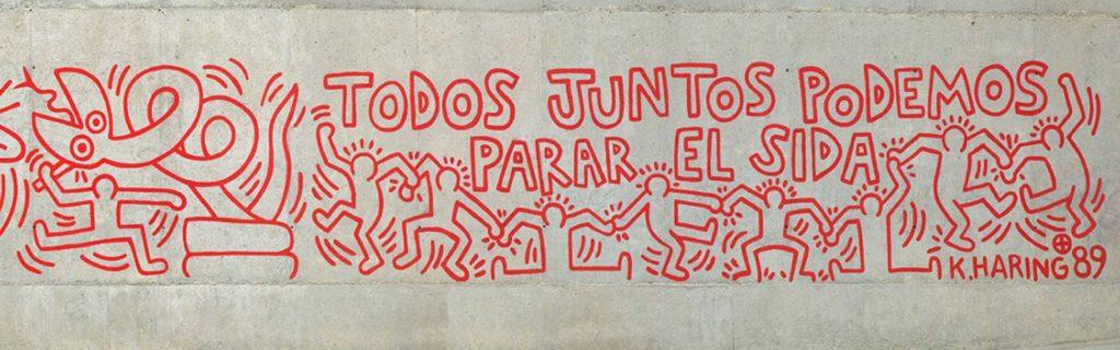 Mural SIDA Keith Haring