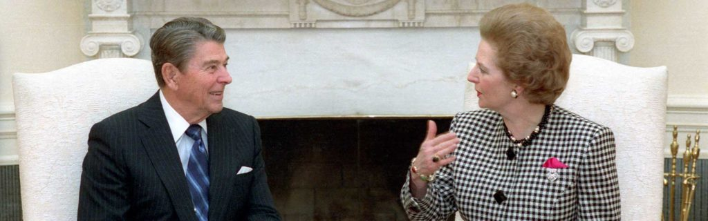 Ronald Reagan i Margaret Thatcher, Friedman
