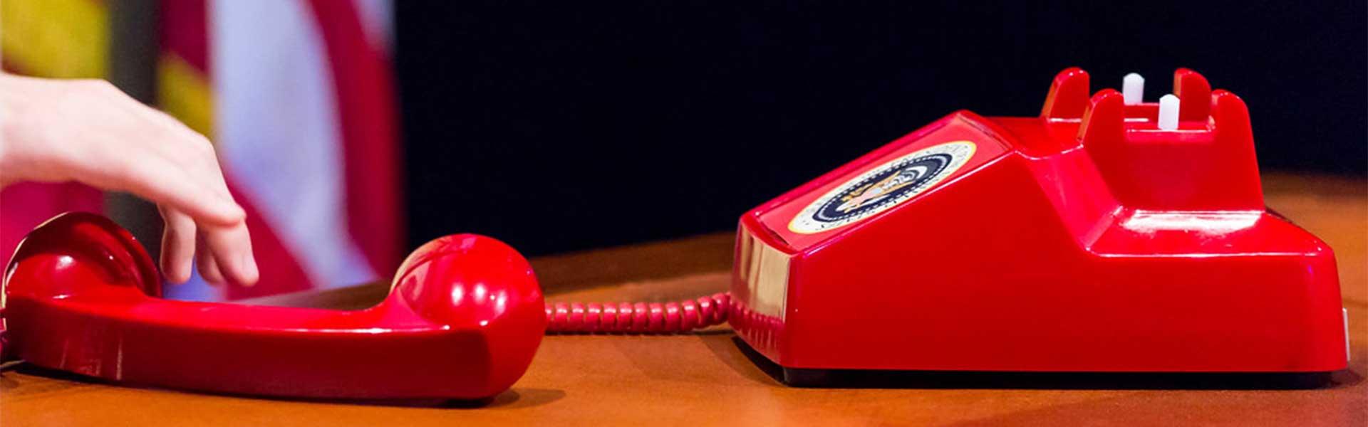 IIGM telefòn vermell