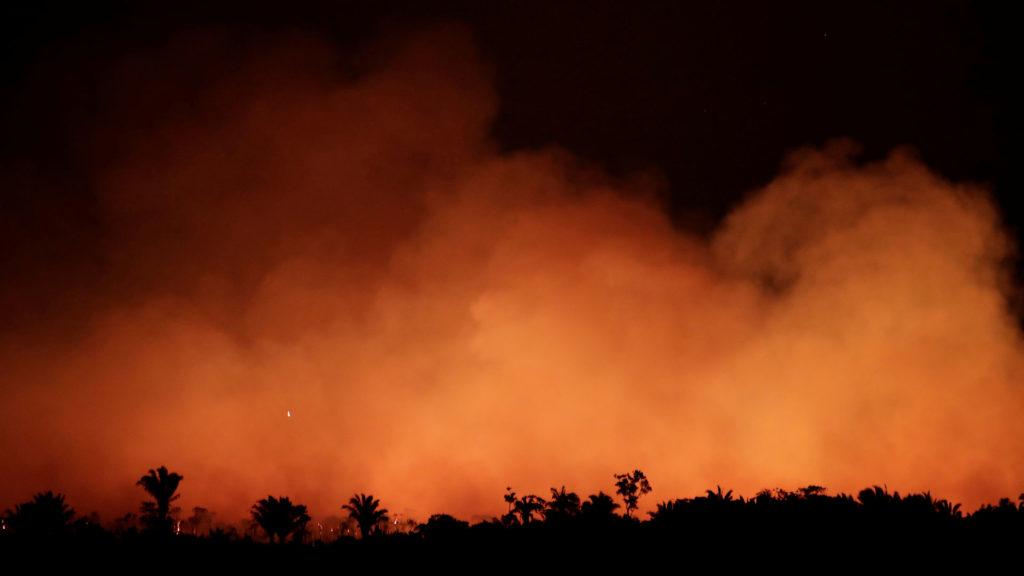 Incendi a l'Amazònia 2019