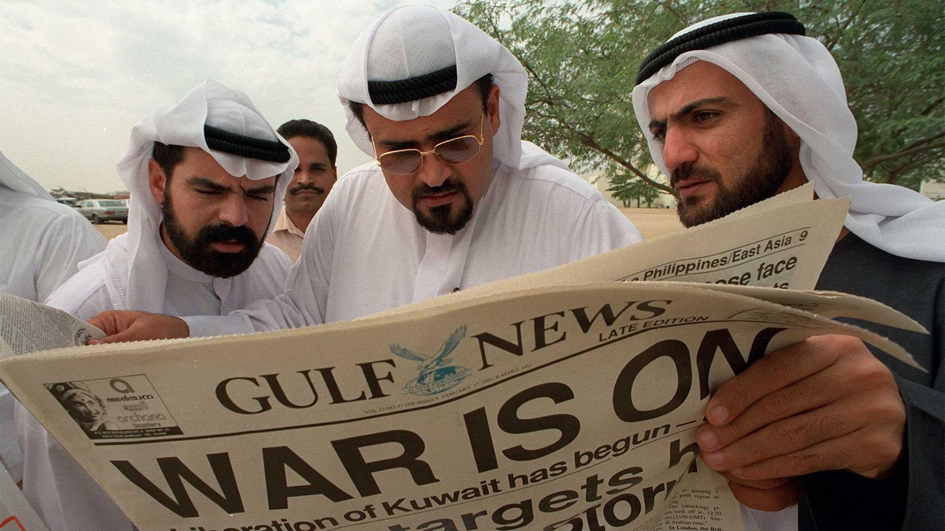 Iraq Guerra del Golf