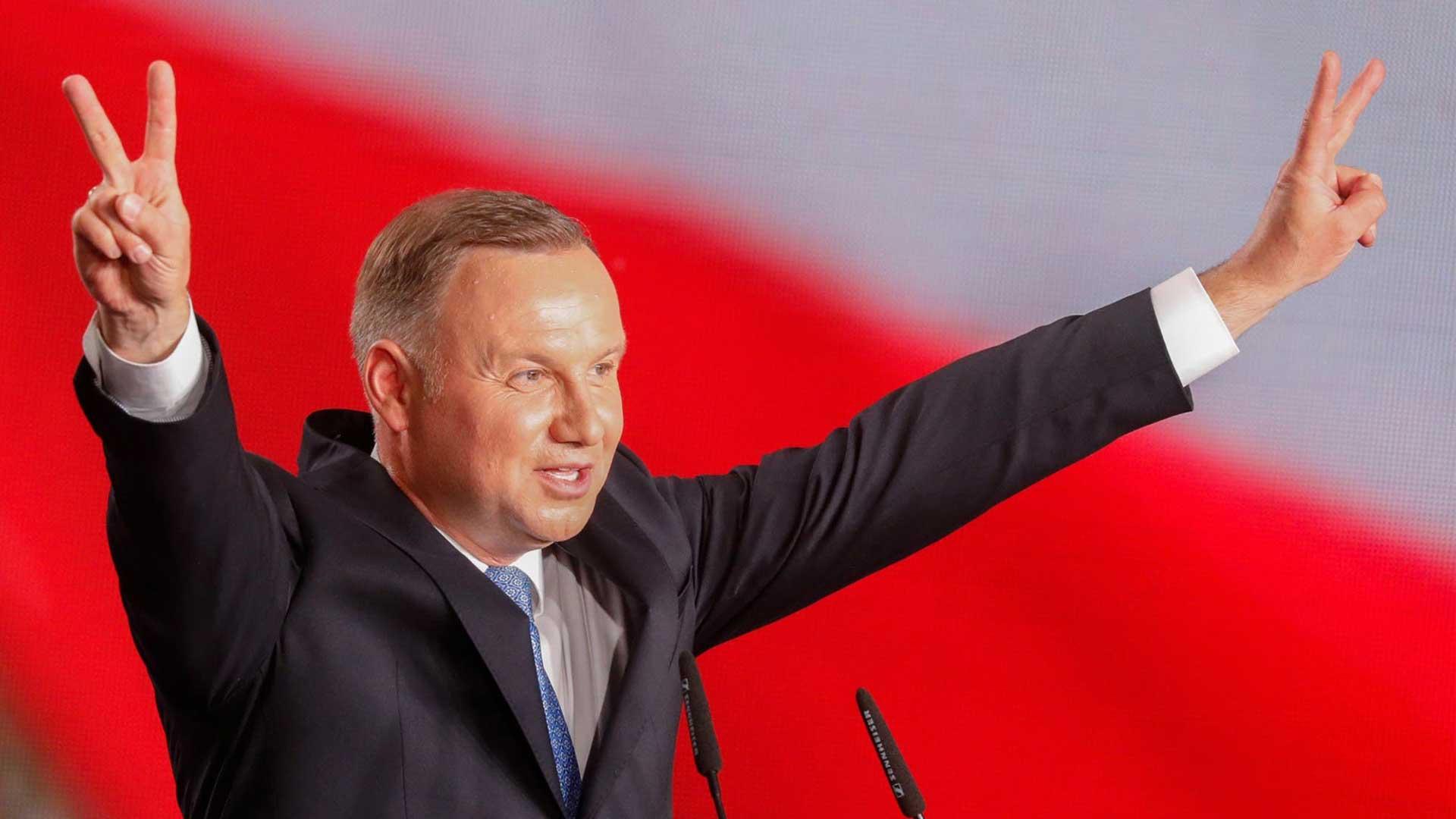 Polonia elecciones Duda