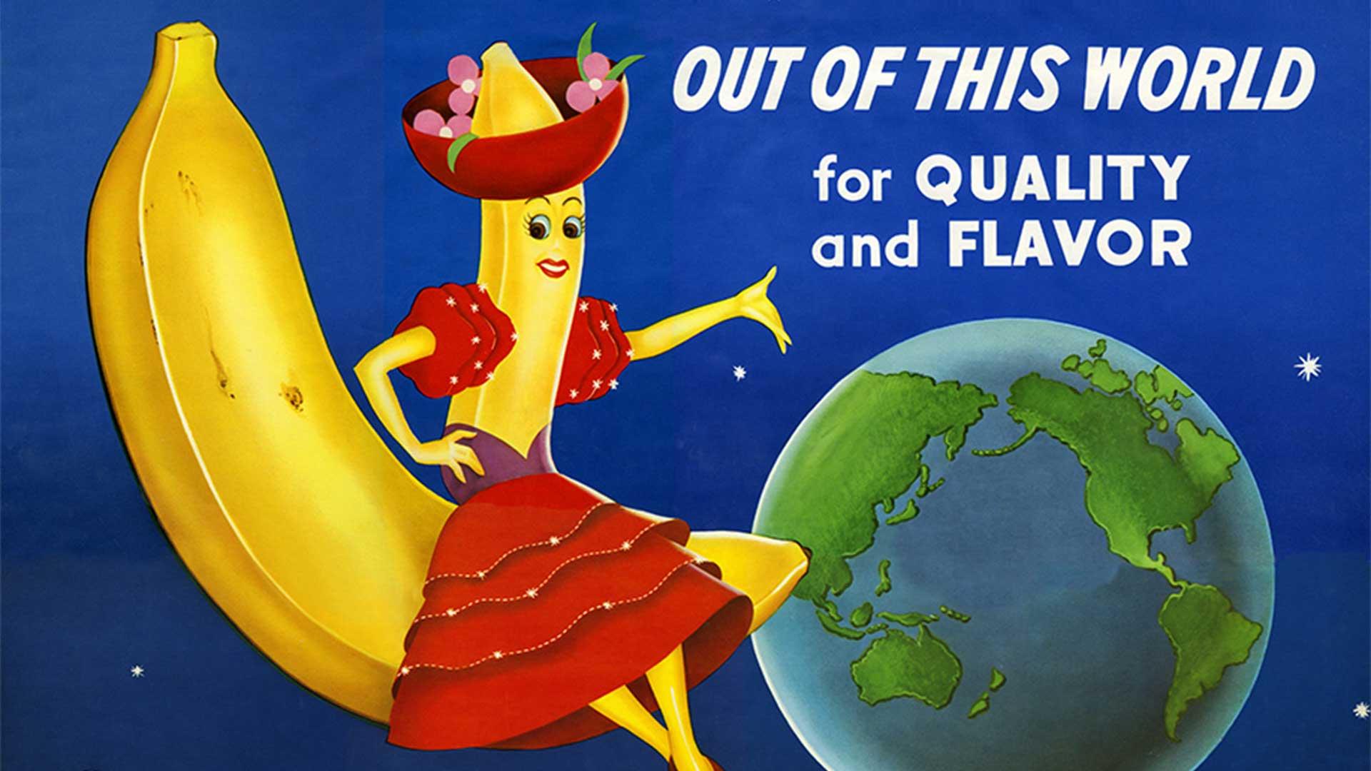 Banana Miss Chiquita