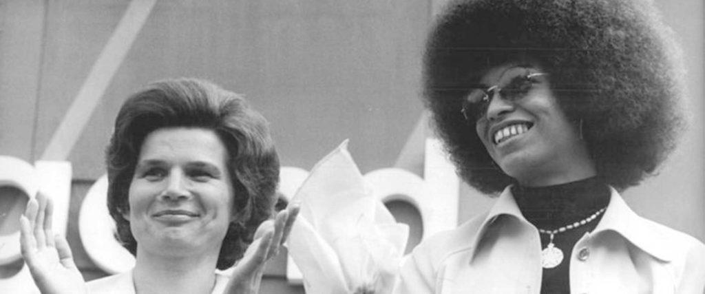 Angela Davis i Valentina Tereshkova
