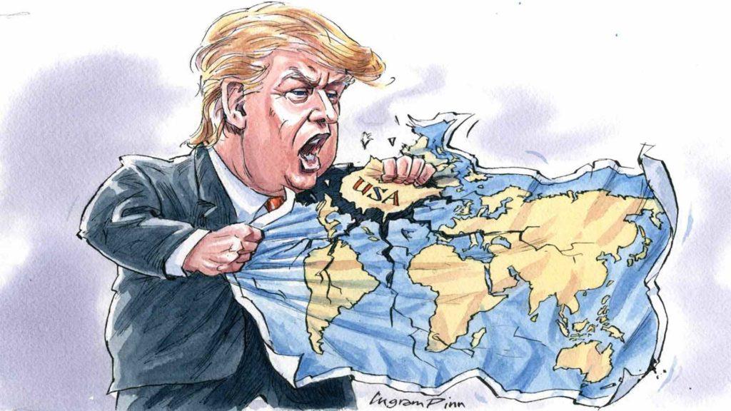 Trump política exterior