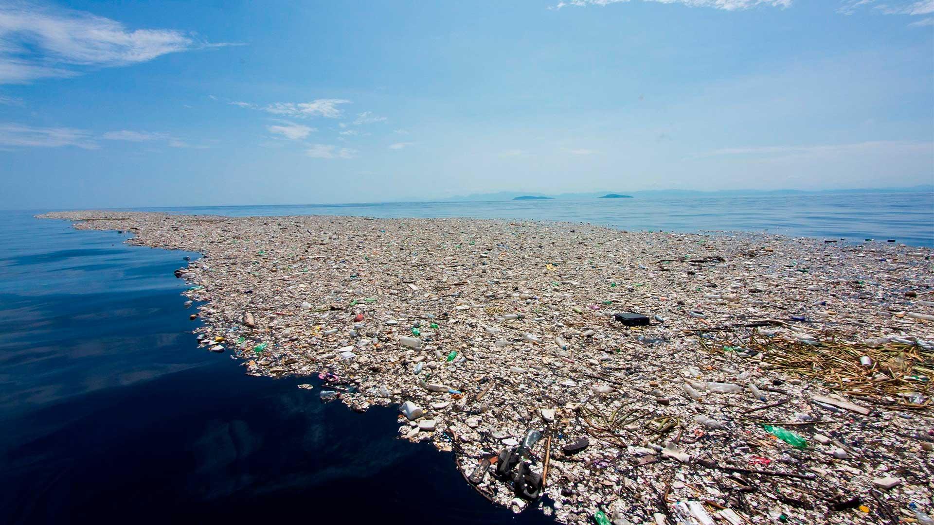 Illa de plàstics