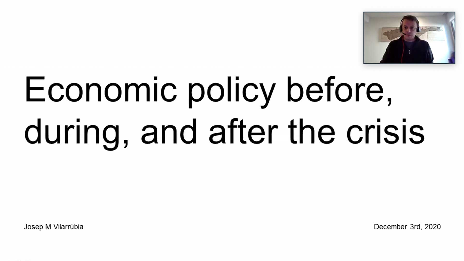 MScIB Crisis Economic Policy
