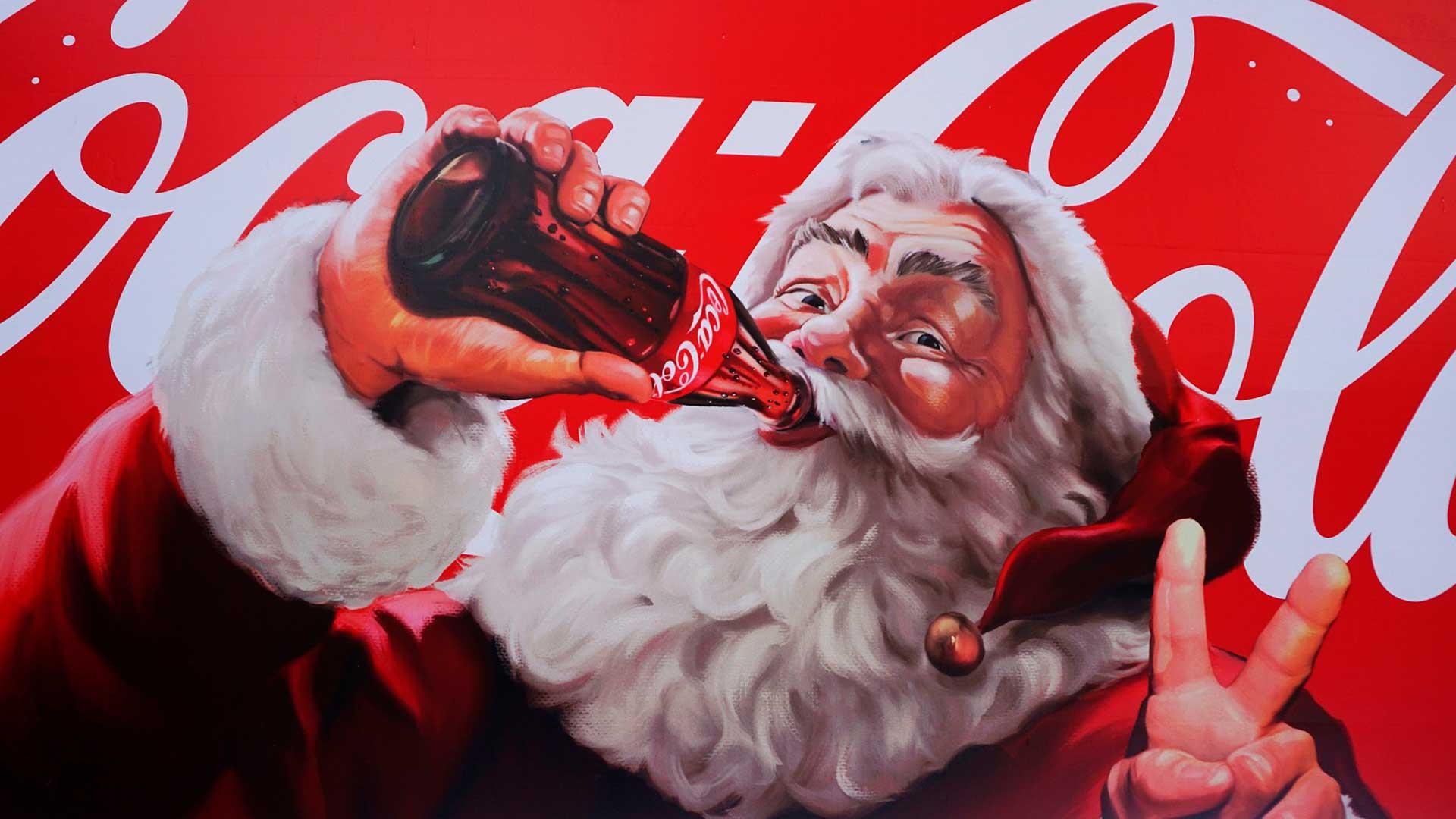 Pare Noel Coca-cola
