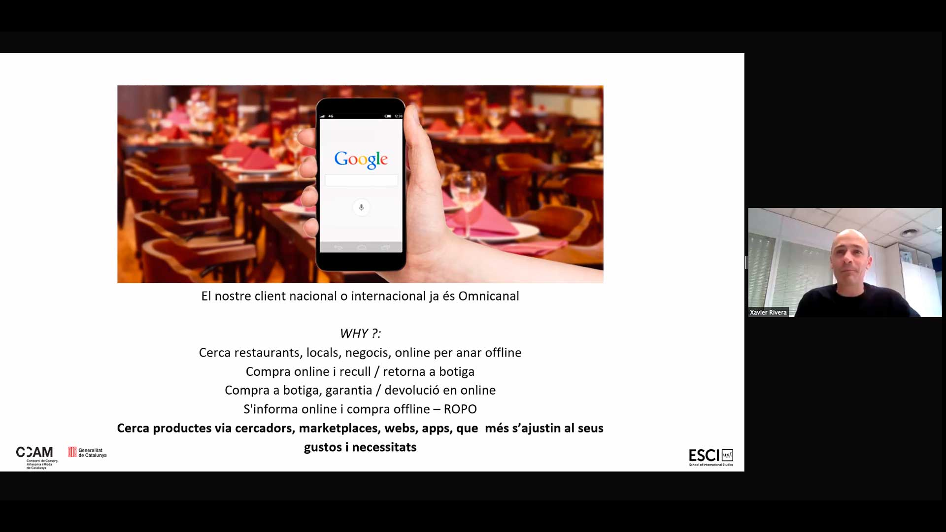 Comerç Online - Webinar CCAM
