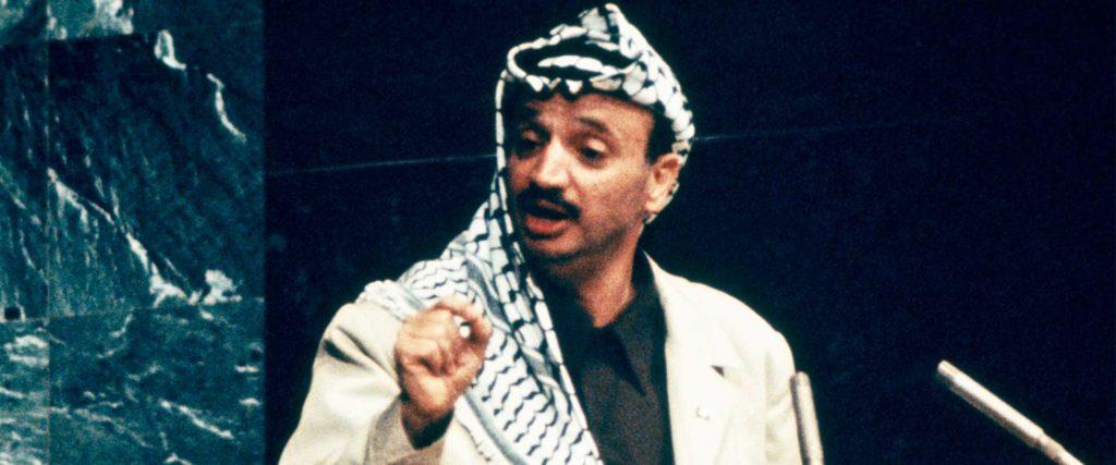 Arafat Discurso ONU