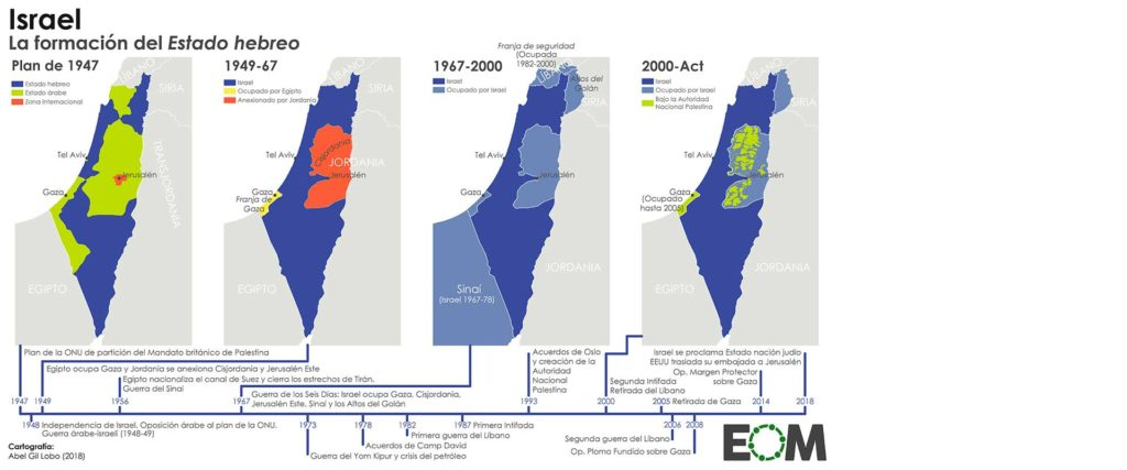 Arafat mapa Palestina