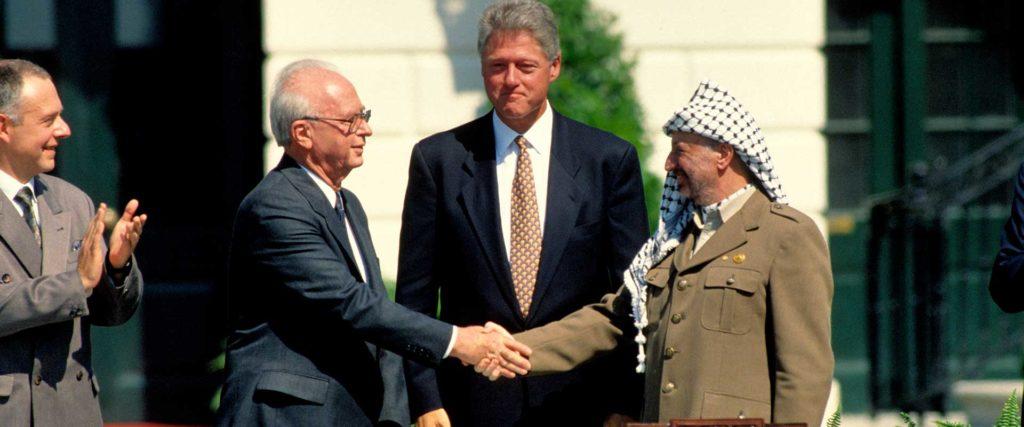 Arafat Rabin Clinton