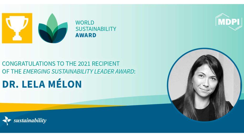 Emerging Sustainability Leader Award