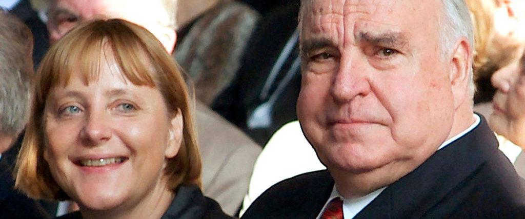 Merkel y Kohl