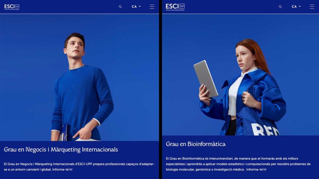 Nova web ESCI-UPF